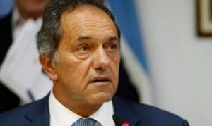 Scioli no se baja y enfrentará a la fórmula Fernández-Fernández en las PASO