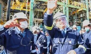 Fernández inauguró la primera planta refinadora de diésel premium en Argentina