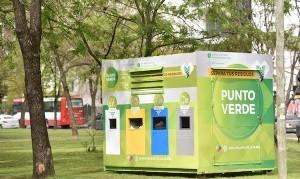 Avanza la colocación de puntos fijos de reciclaje en La Plata