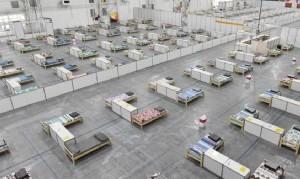 Abre en Costa Salguero el mayor centro de aislamiento para casos de coronavirus en la Ciudad