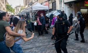 CICOP repudia represión de la policía de Larreta a enfermeras y enfermeros en la Legislatura de CABA