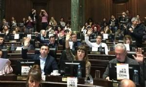 Legisladores de Larreta hicieron campaña por Macri en plena sesión ordinaria