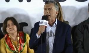 """Macri, en el Chaco: """"Queremos defender el futuro que todos soñamos"""""""
