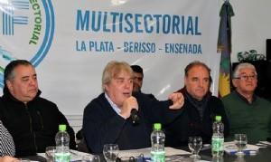 A pesar de la ausencia de los Moyano, la Multisectorial 21F dijo presente en La Plata