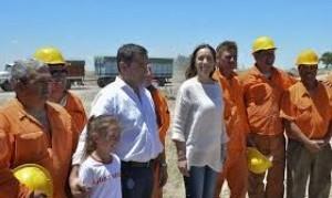 Vidal recorrió Bahía Blanca, Puán y Pigüé