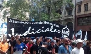 """Los judiciales pararon ante la """"inadmisible"""" oferta de Vidal"""
