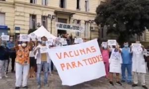 Quirós cuestionó el criterio del Gobierno Nacional para repartir vacunas entre los distritos