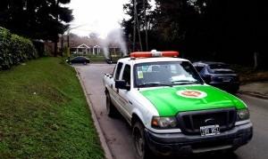 Operativos de fumigación y desinfección en distintos barrios de Esteban Echeverría
