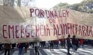 El Gobierno reconoce que hay hambre en la Argentina: Es ley la emergencia alimentaria