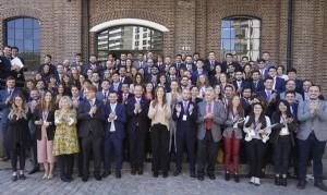 Vidal recibió a jóvenes del seminario País Federal de la fundación Universitaria del Río de La Plata