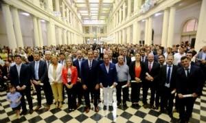Garro confirmó a su gabinete en La Plata