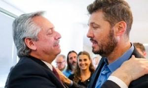 Alberto se mostró con Tinelli en la primera reunión del Consejo contra el Hambre