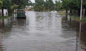 Pehuajó inundado