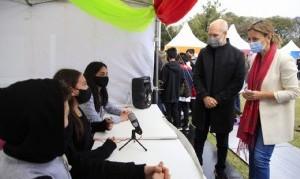Larreta visitó la 9° edición del festival educativo Innova