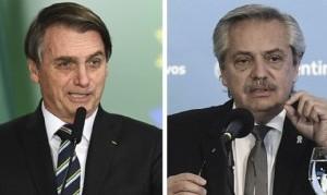 Alberto Fernández mantendrá este lunes su primer encuentro Bolsonaro desde que asumió