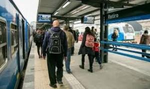Avanzan las obras de reforma de la estación Palermo del tren San Martín