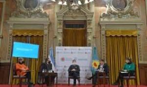 """Kicillof encabezó el primer encuentro de """"Culturas Bonaerenses"""""""