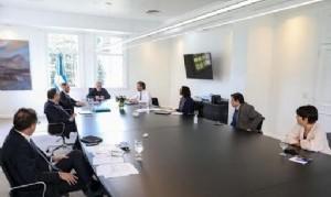 El Presidente se reunió con el Gabinete económico