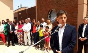 """Kicillof pasó por Benito Juárez y aseguró que """"la salud, la educación y la justicia social son prioridades"""" en su gobierno"""