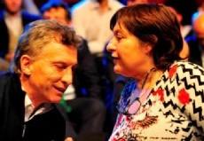 Mauricio Macri y Graciela Ocaña.