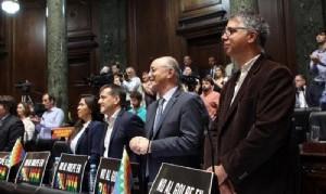 """La Legislatura expresó su """"enorme preocupación"""" por Bolivia"""