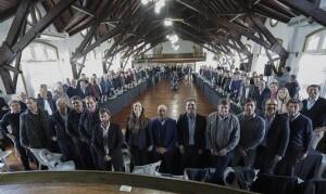 Vidal se reunió con los intendentes de Juntos por el Cambio