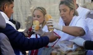 Empezó el combate contra el hambre en el Conurbano