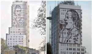 Patrimonio: Buscan que los murales en homenaje a Evita de la 9 de Julio sean declarados de interés artístico