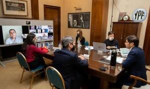 Kicillof presentó una batería de medidas para los sectores productivos